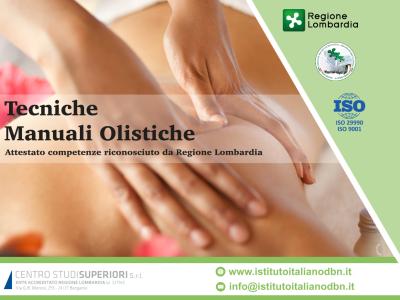 """Tecniche Manuali Olistiche: in avvio il 2 Maggio il primo modulo """"Massaggio Orientale e Approccio Olistico"""""""