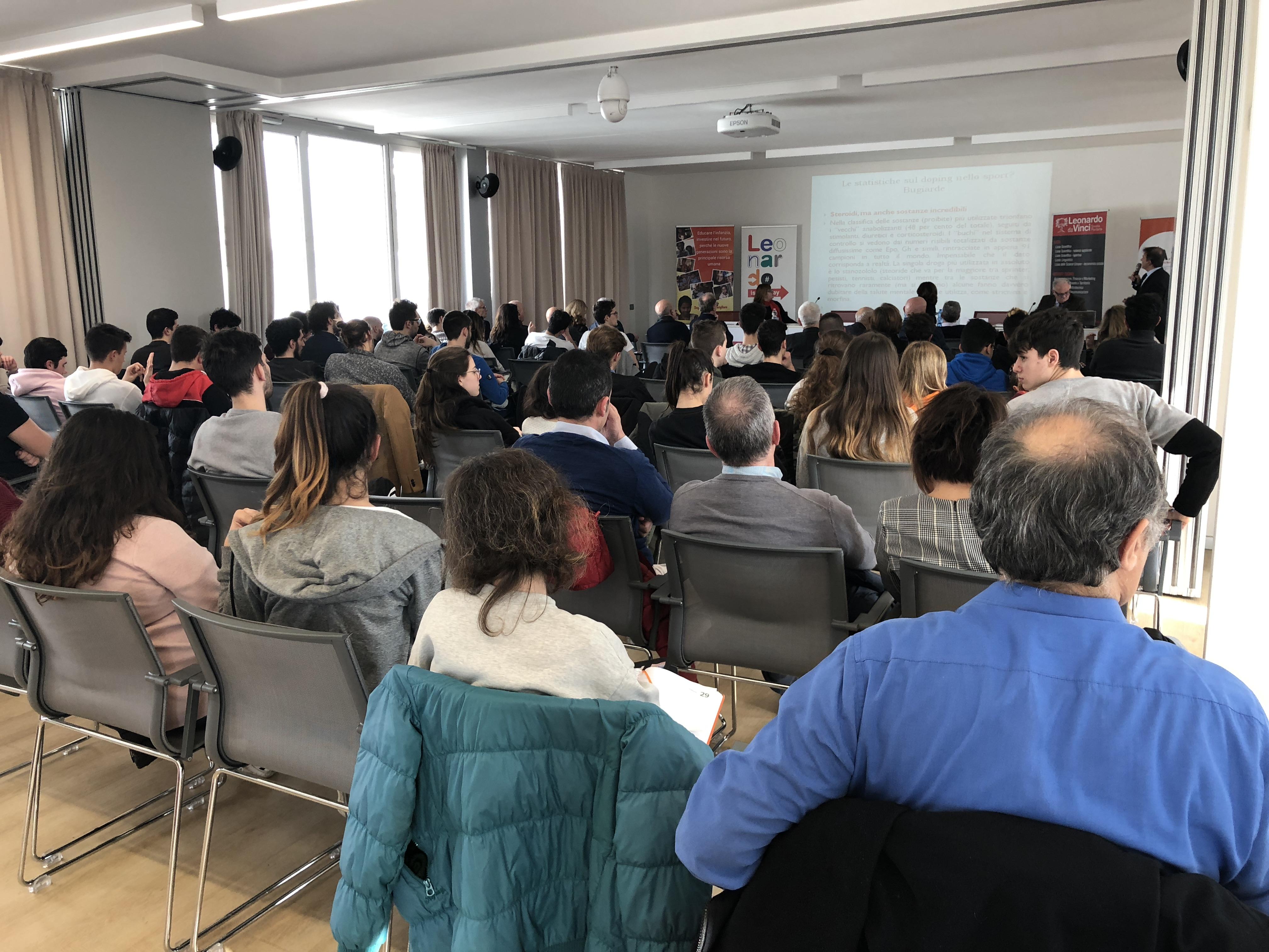 Presso l 39 istituto italiano dbn il convegno il doping un for Istituto italiano